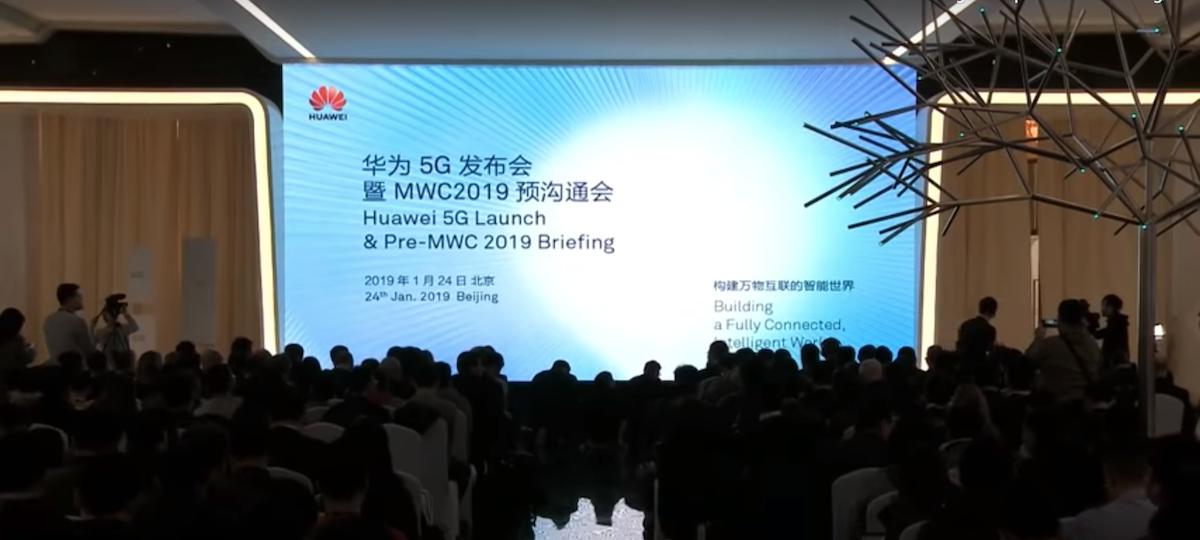 MWC 2019, Huawei 5G